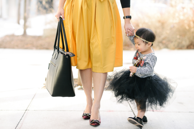 Mommy and me dressy outfit