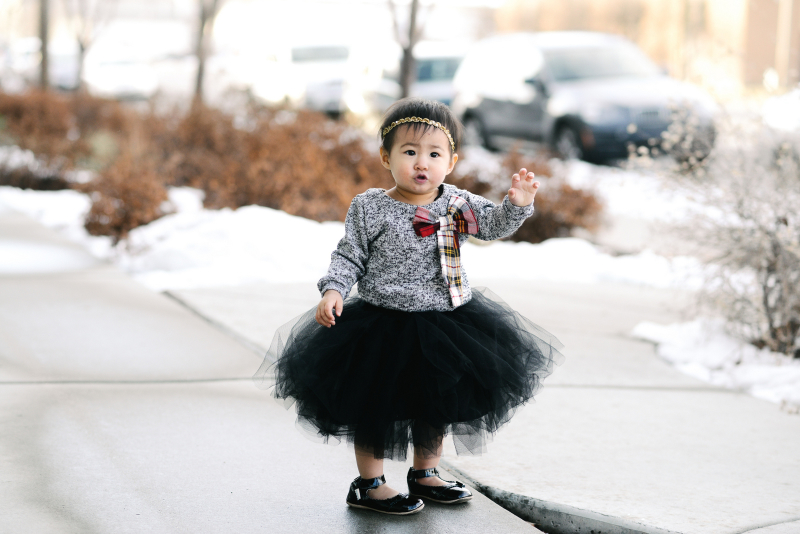 How to style a baby girl tutu