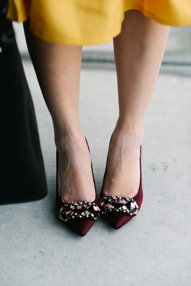 Tory Burch embellished shoes
