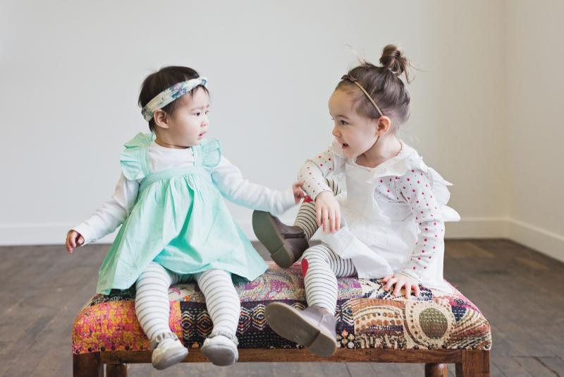 Gentille Alouette dresses on girls
