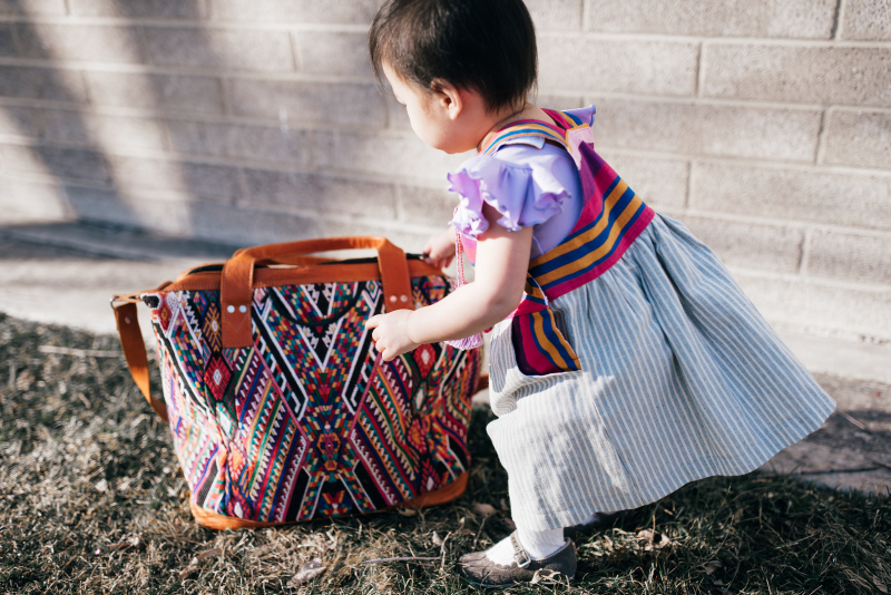 Nena Kiddos dress and bag