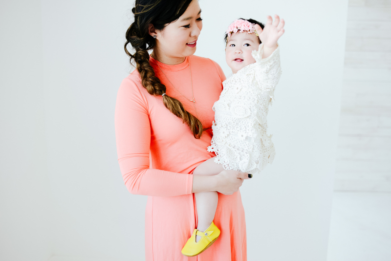 Mama and baby outfits