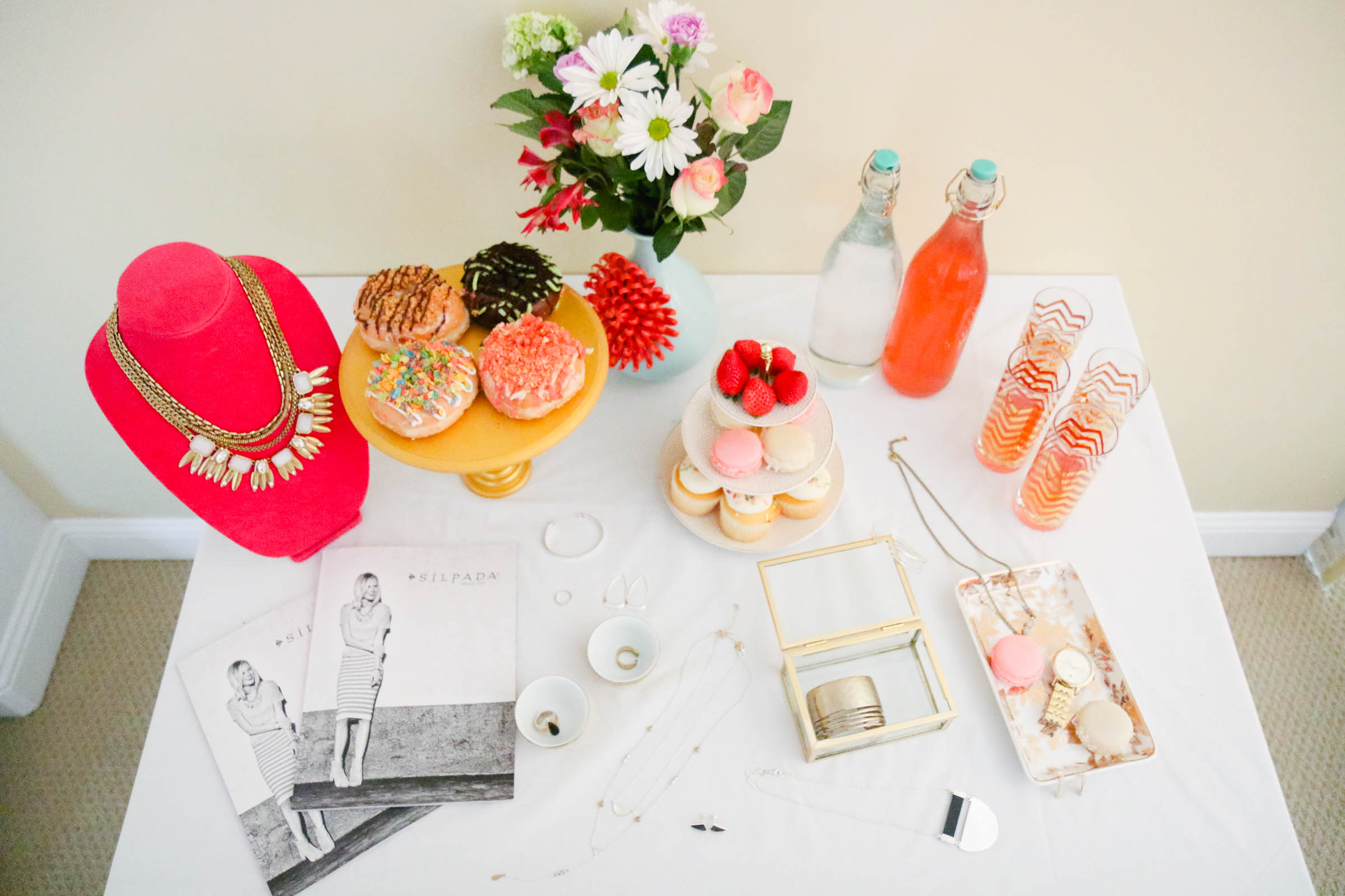 Jewelry dessert table