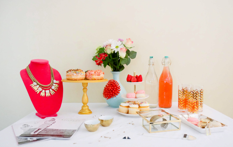 Silpada party table