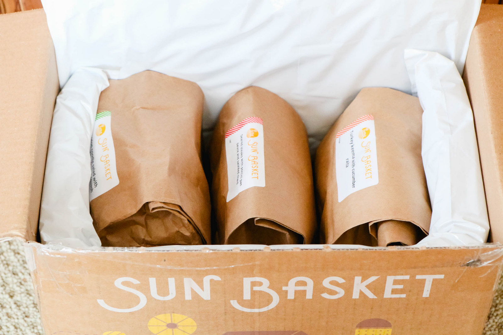 SunBasket meal delivery review