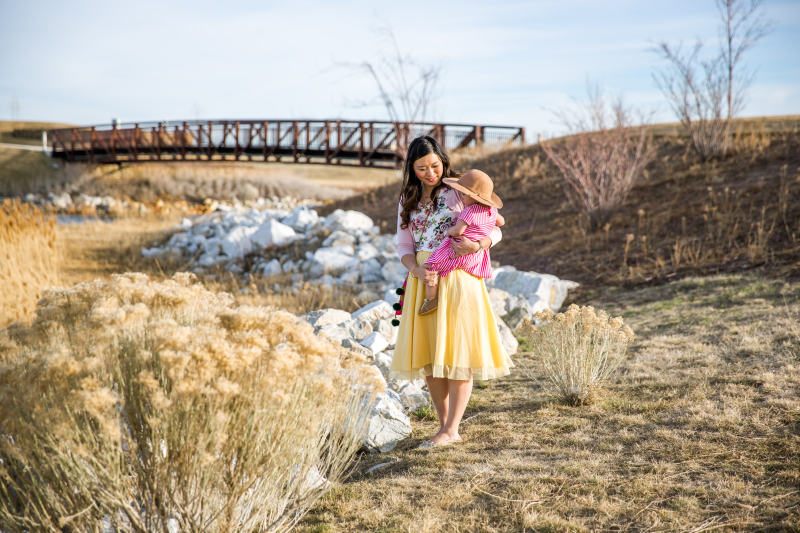 Mommy and me style with DownEast Basics