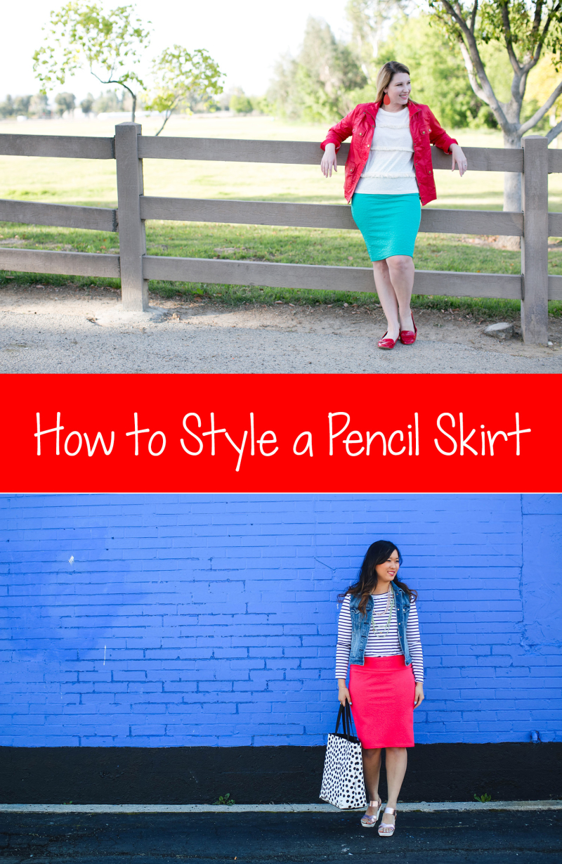 how-to-style-a-pencil-skirt