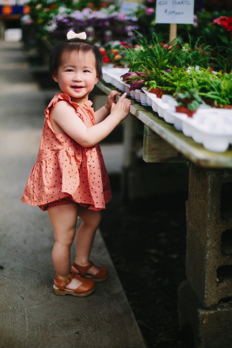 Rylee and Cru watermelon dress