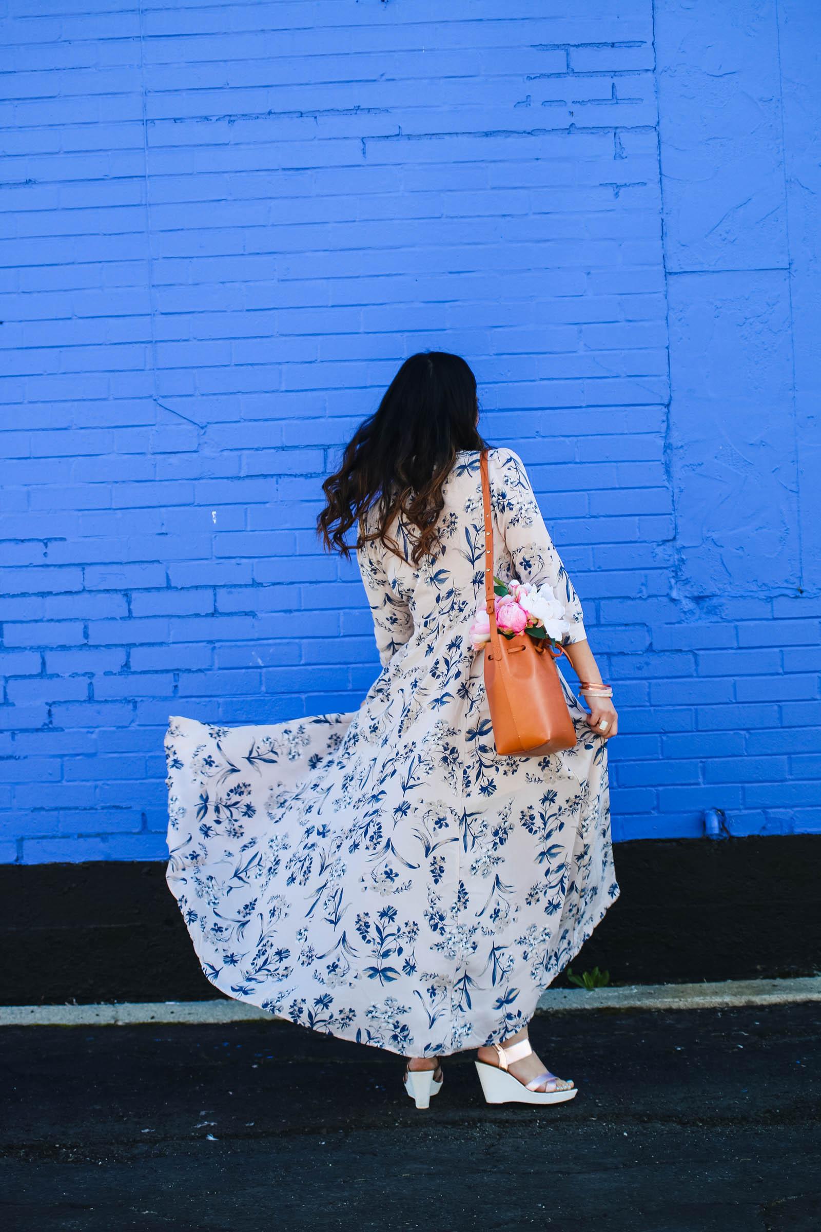 Love Winnie James floral dress