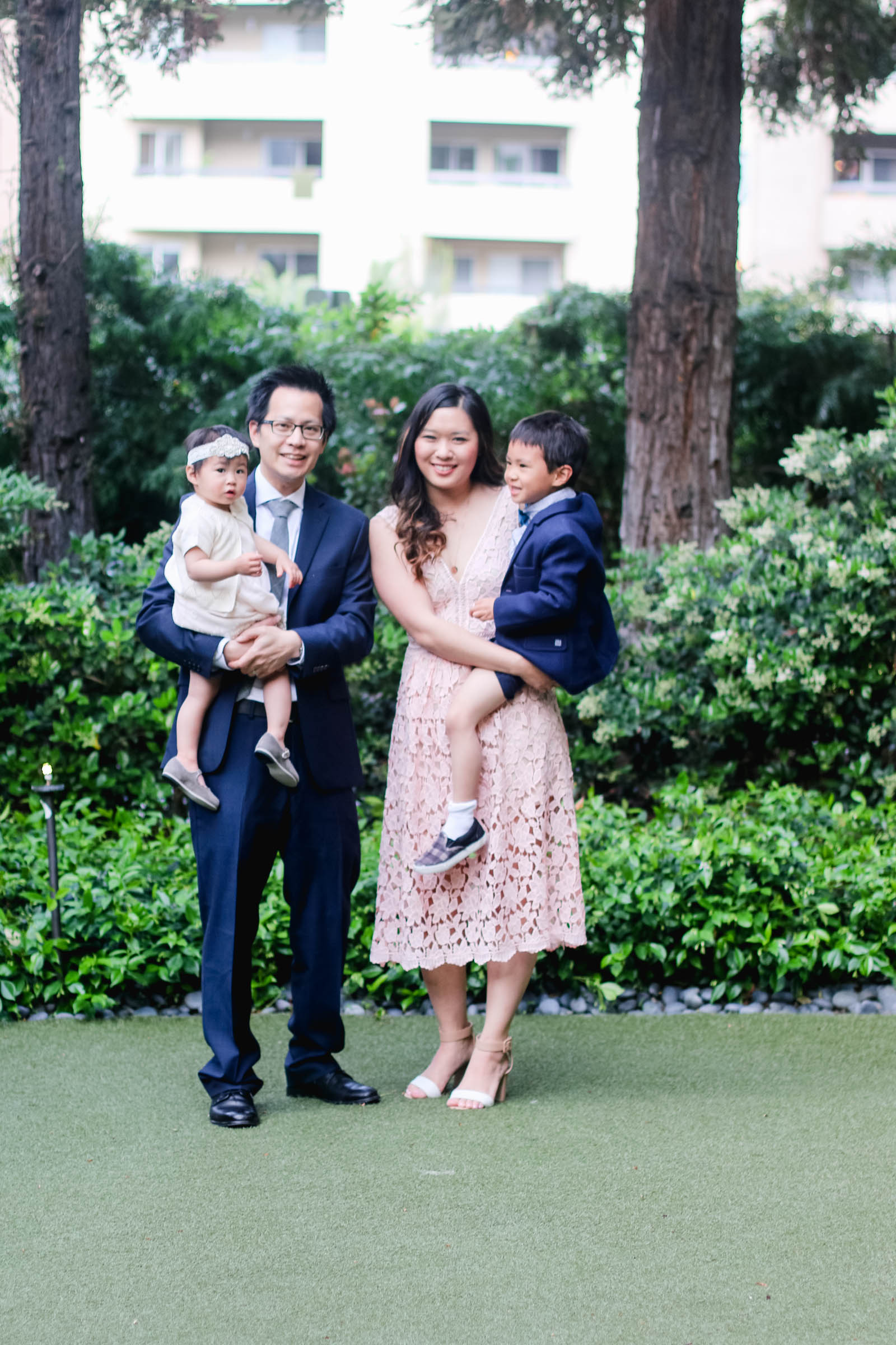 Family Fashion For A Spring Wedding