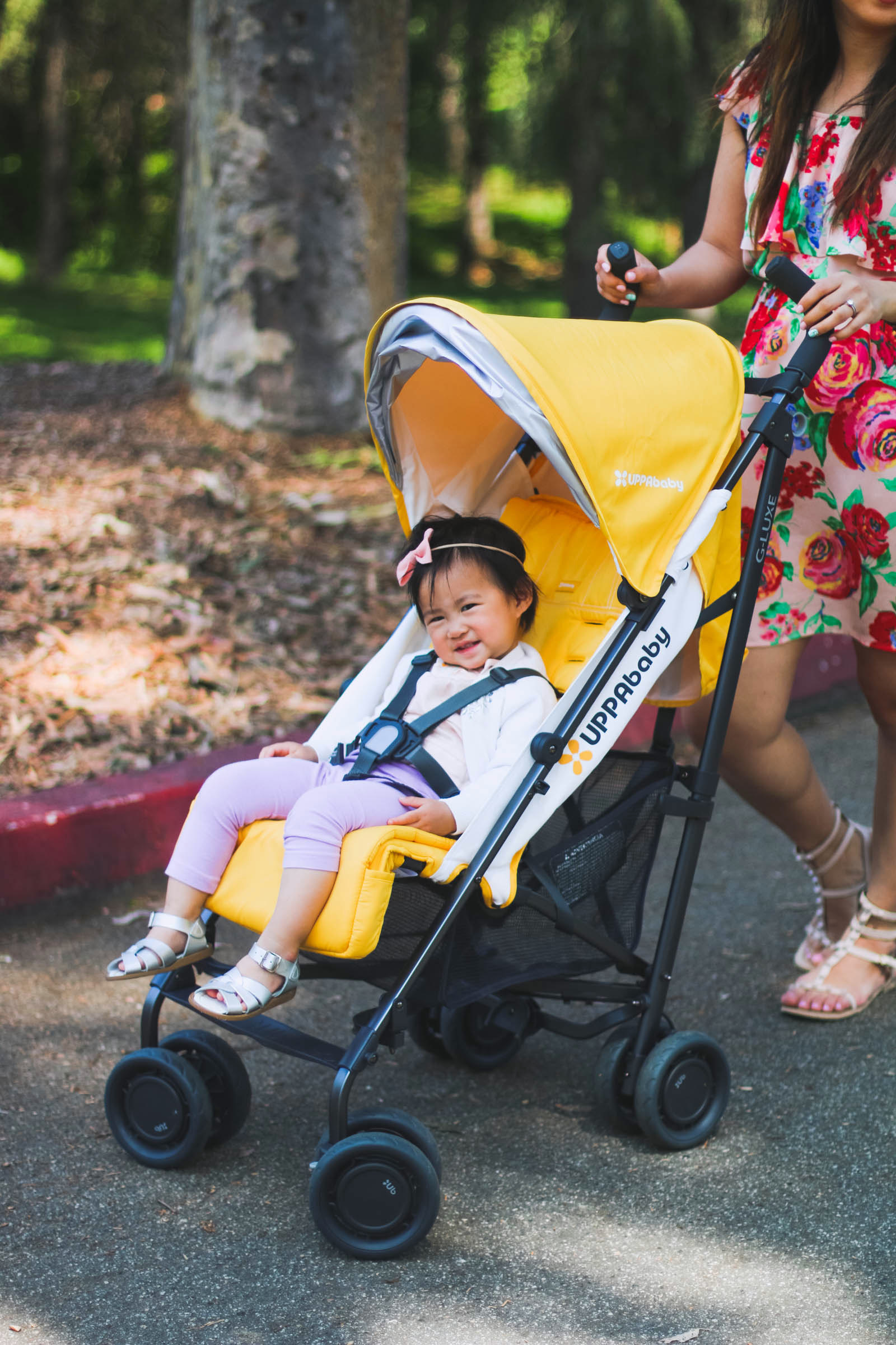 Traveling with the UPPABaby G-Luxe stroller