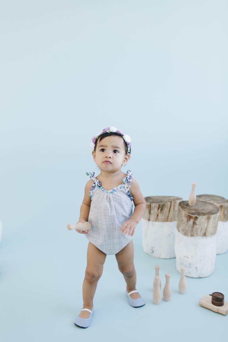 Baby girl romper from Peyton's Lane