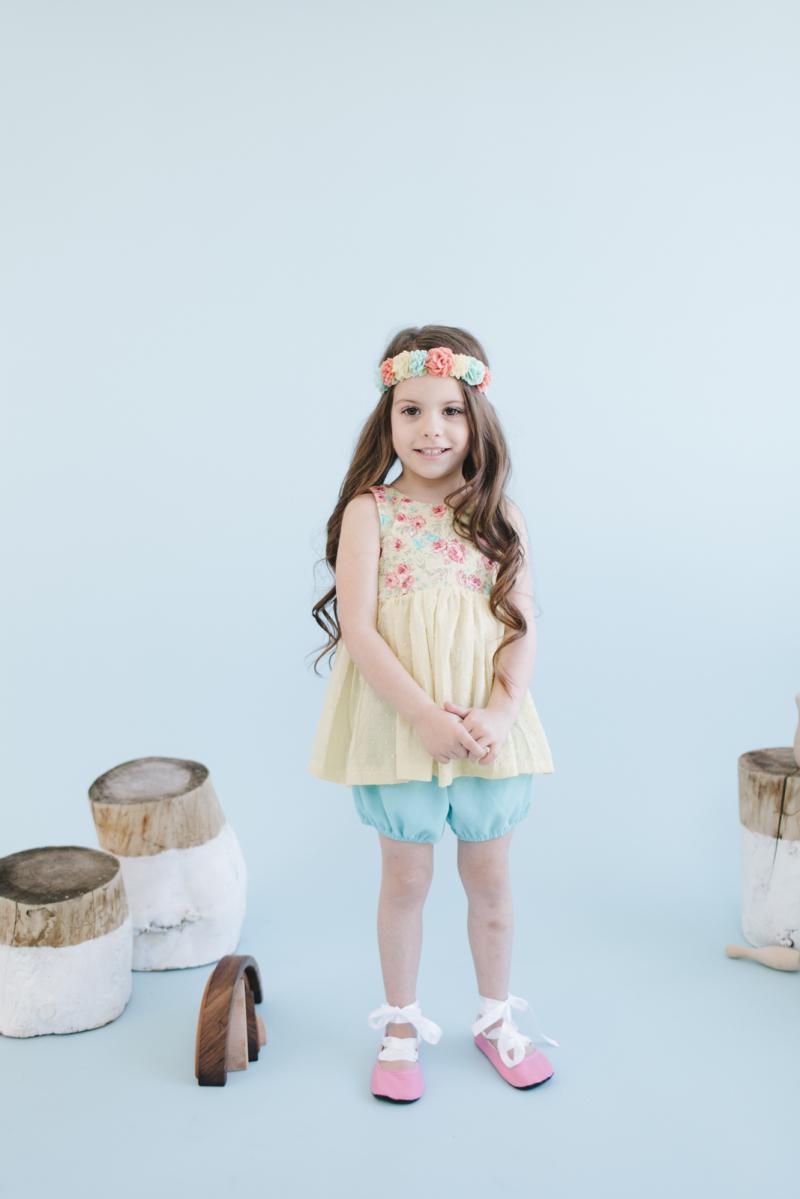 Kid's fashion photoshoot