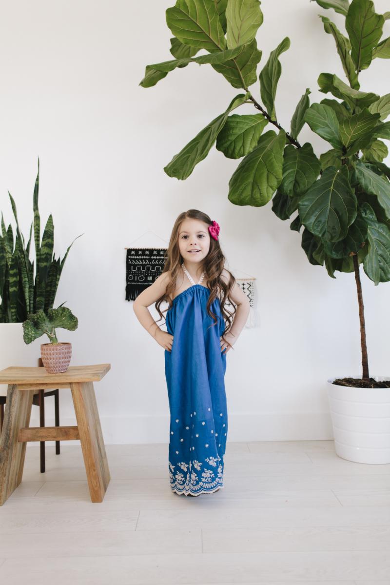 Littlepeoplerocx maxi dress