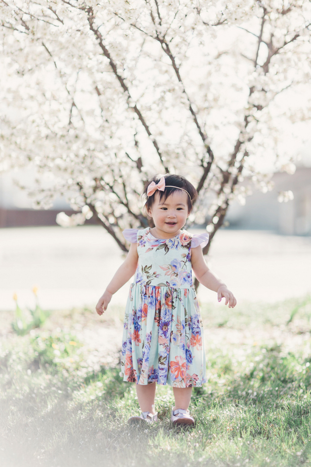 Toddler girl style Remie & Co. dress