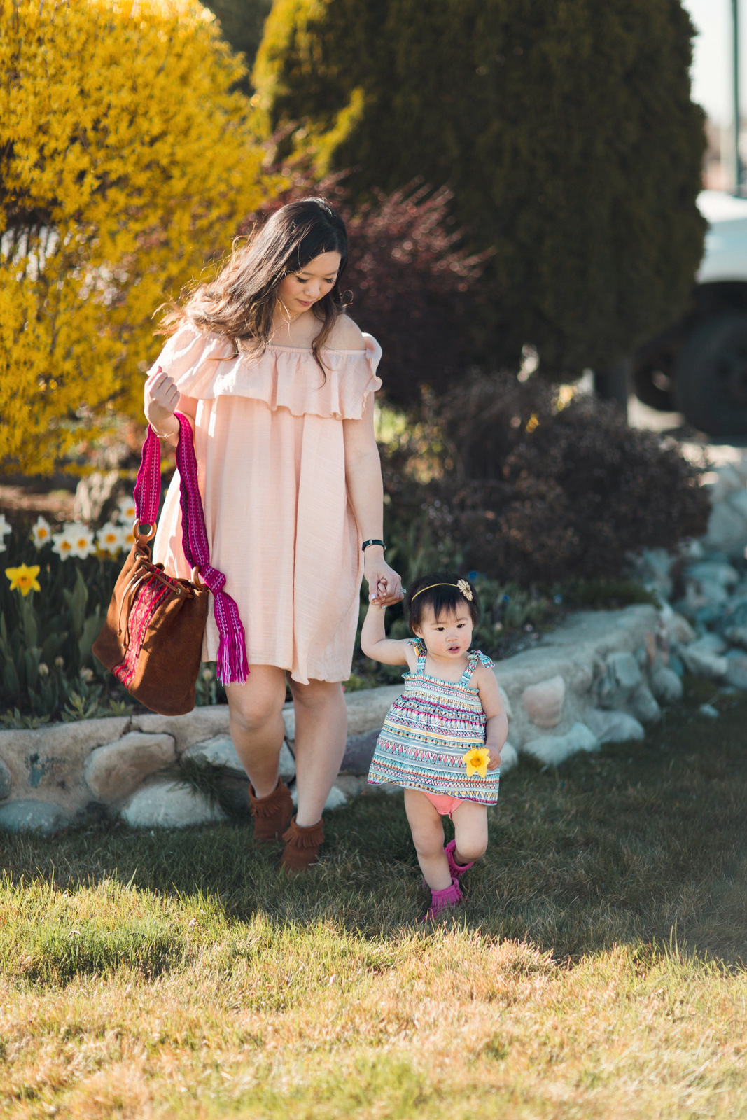 Mommy and Me Boho outfit