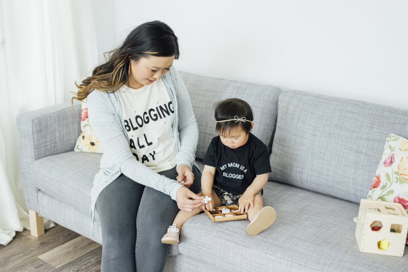 Blogger graphic tees