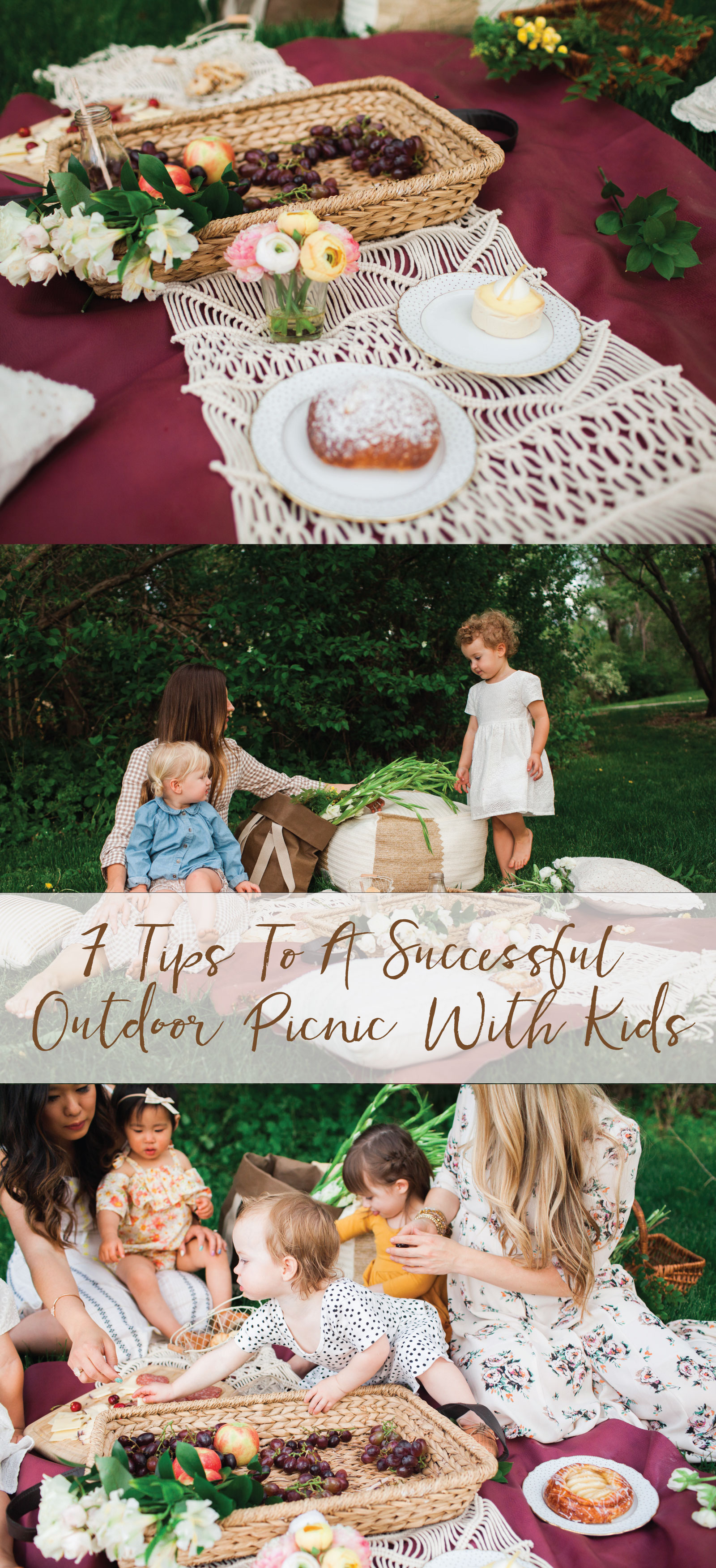 7 Tips To A Successful Outdoor Picnic With Kids