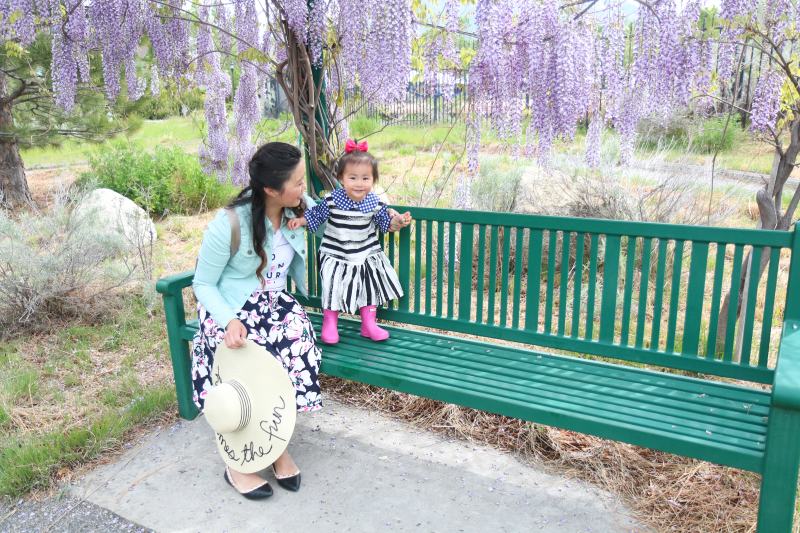 Mommy and me Spring style