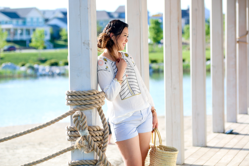 Coastal Chic outfit