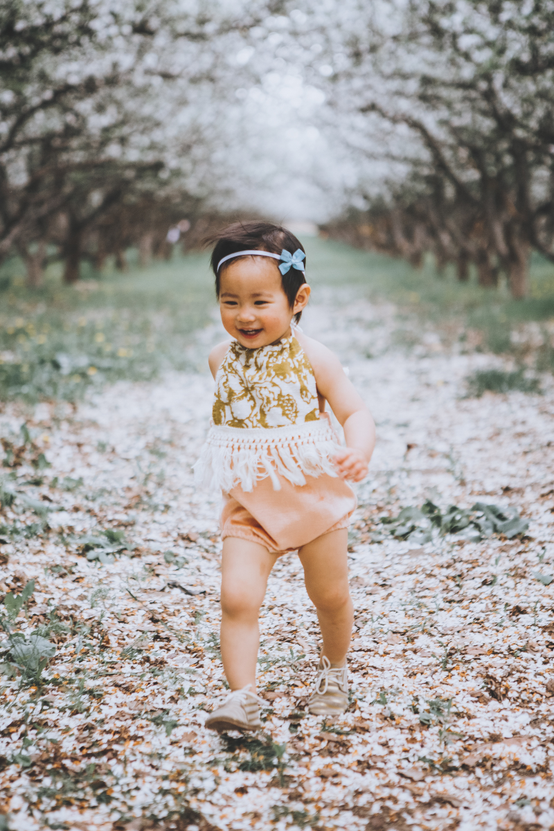 The Stag and The Swan baby romper