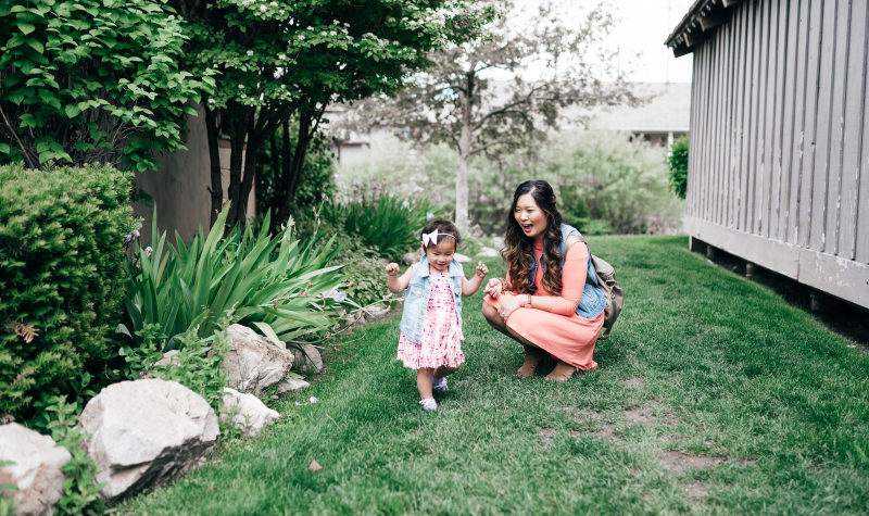 Mamas and Minis Style: Vests and Fringe