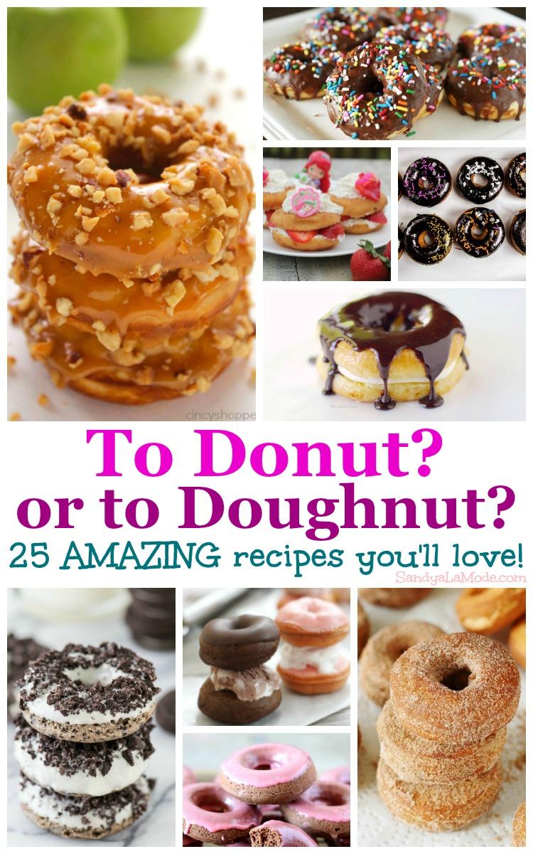 25 Amazing Donut Recipes Roundup