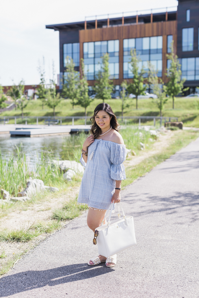 45ad951ab297 Casual Summer Outfit with Pearls + GIVEAWAY!