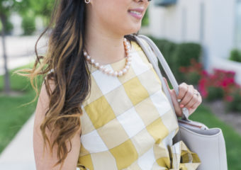 Pattern Mixing: Gingham and Stripes