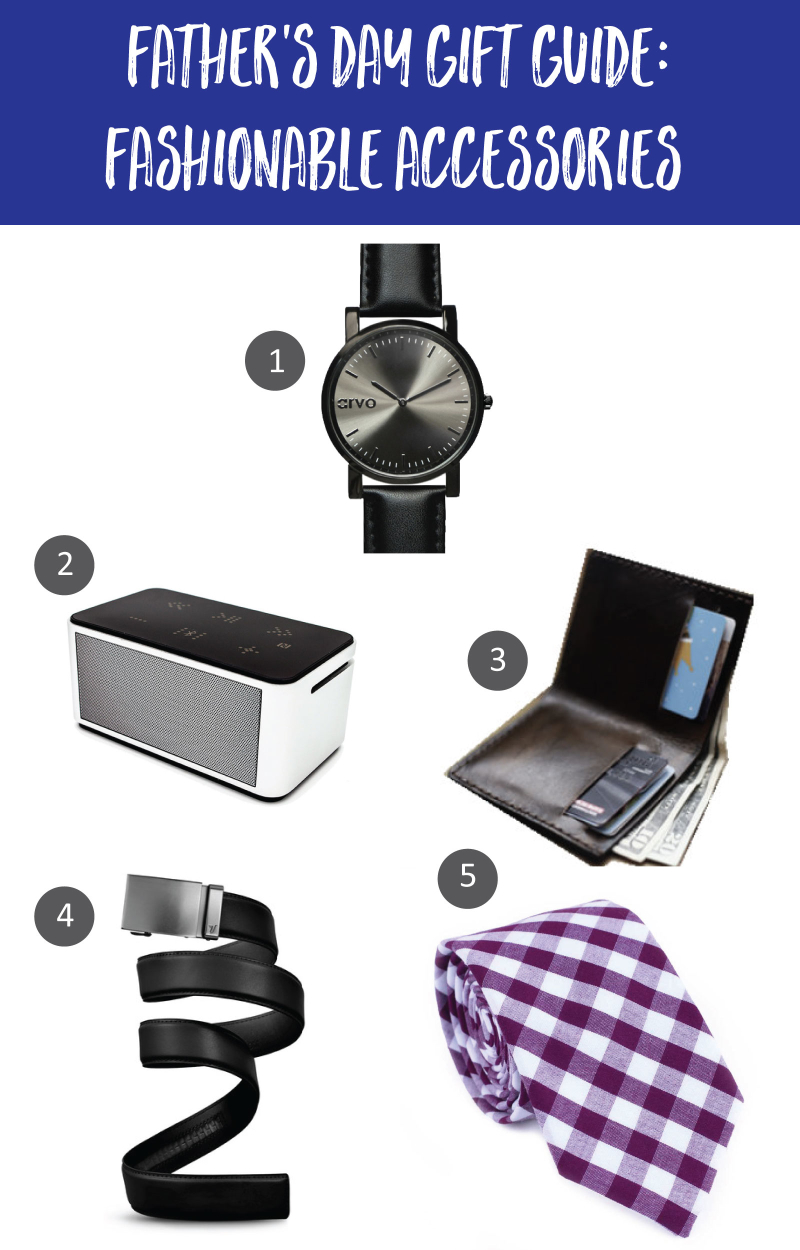 Father's Day Gift Guide: Fashionable Accessories