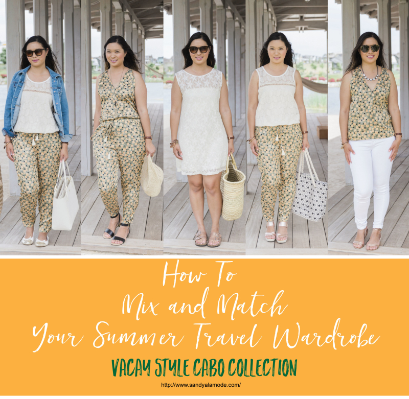 Mix and Match Your Summer Travel Wardrobe with Vacay Style