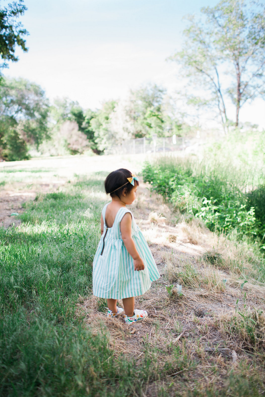 Toddler girl wearing Lacey Lane