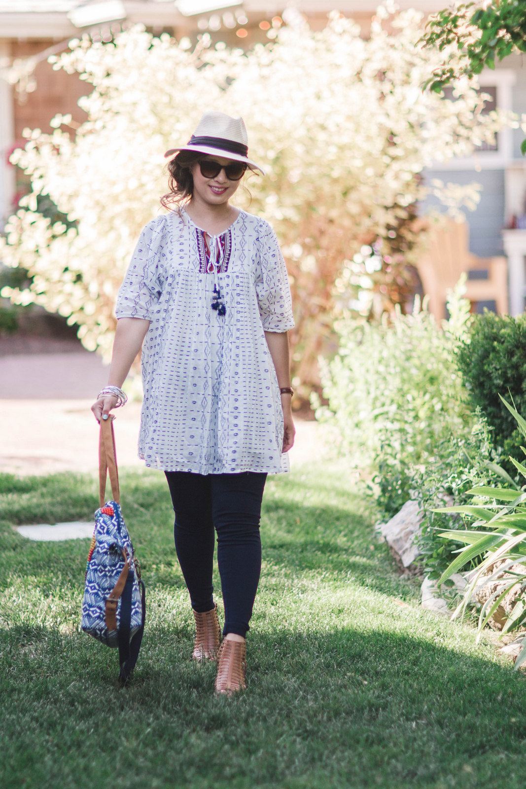 Boho Outfit featuring World Market