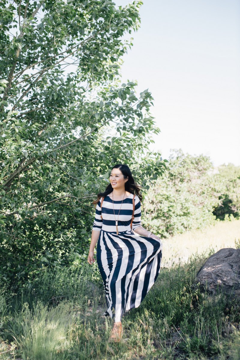 Shabby Apple striped dress