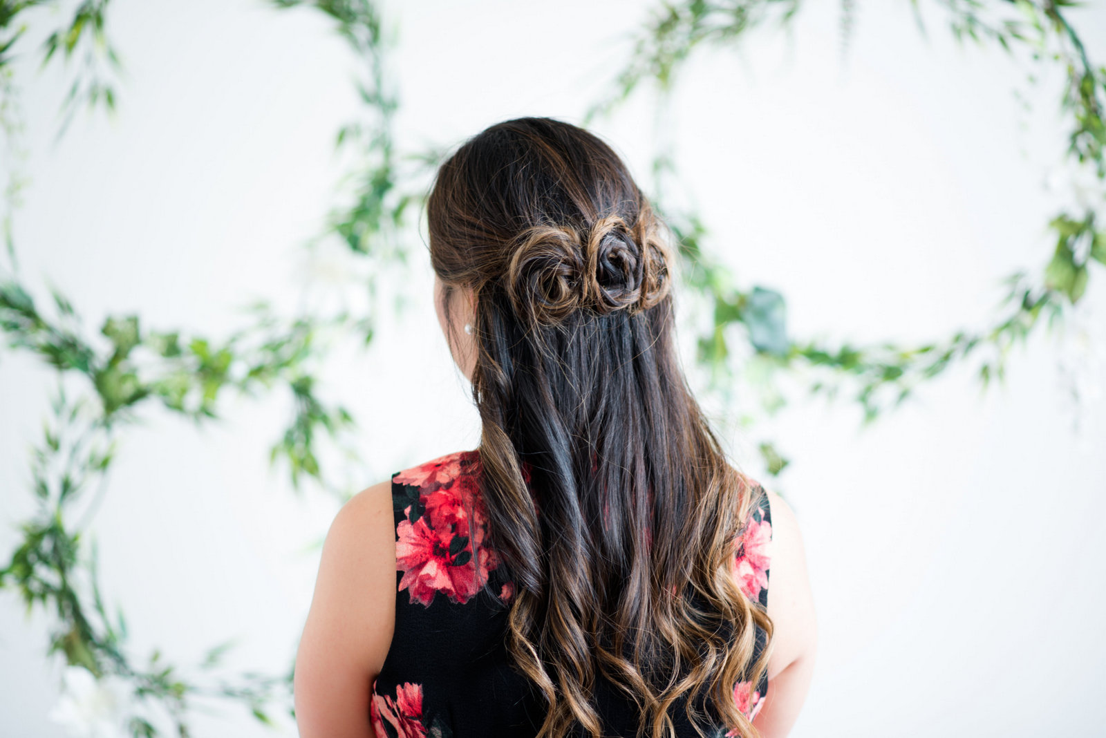 Triple rose braid