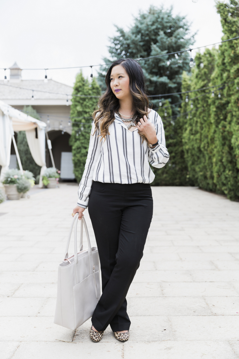 How to style black pants