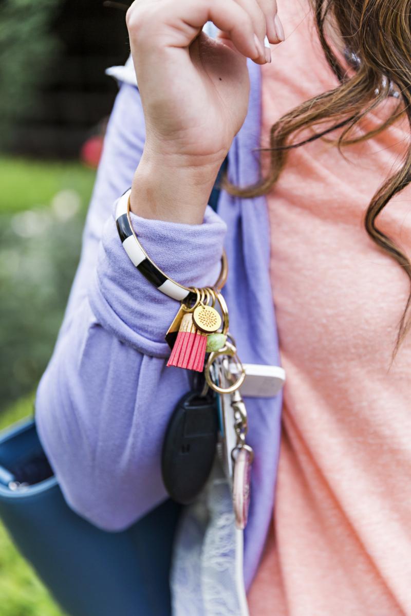 Coco and Kiwi Keychain Bangle
