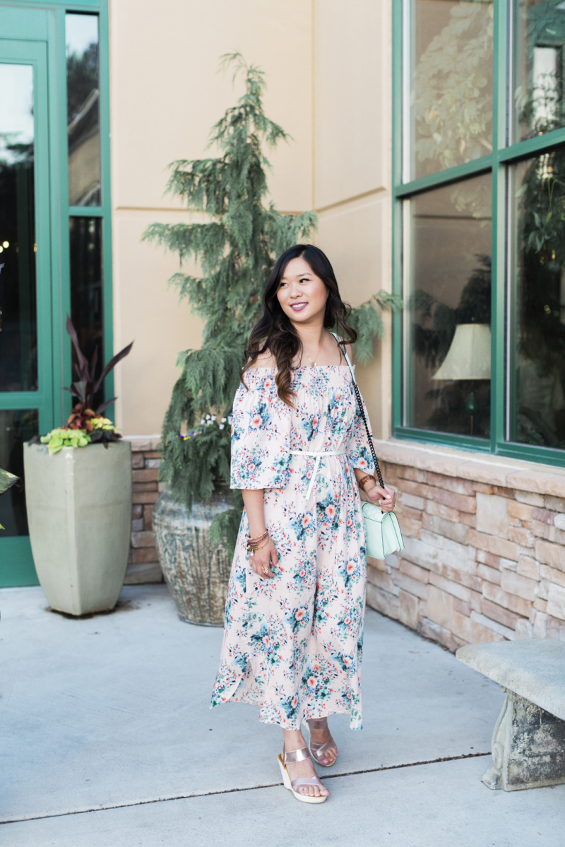 Morning Lavender Floral Dress