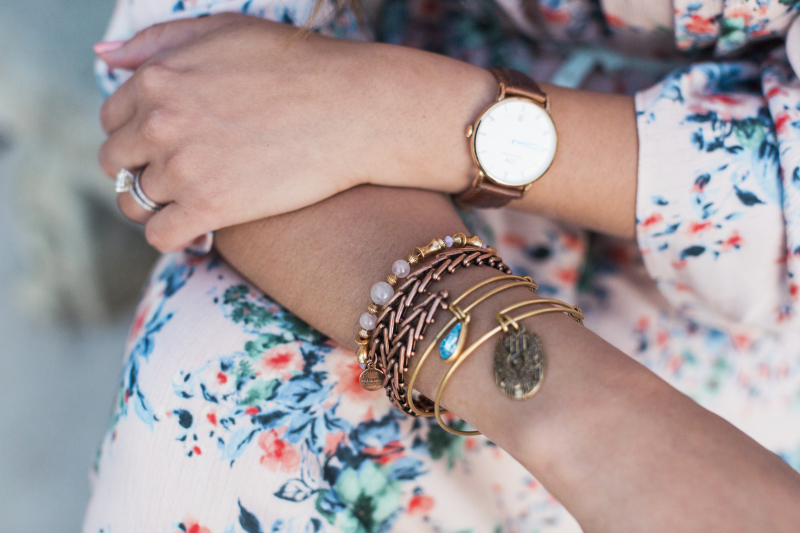 Alex and Ani Arm Stack