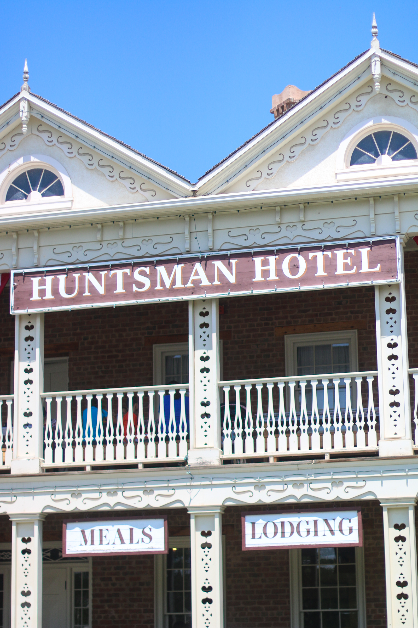 Huntsman Hotel at This Is The Place Heritage Park