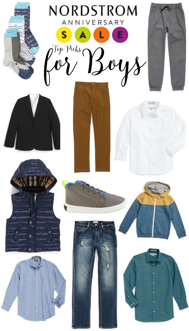 Nordstrom Anniversary Sale Top Picks for Boys