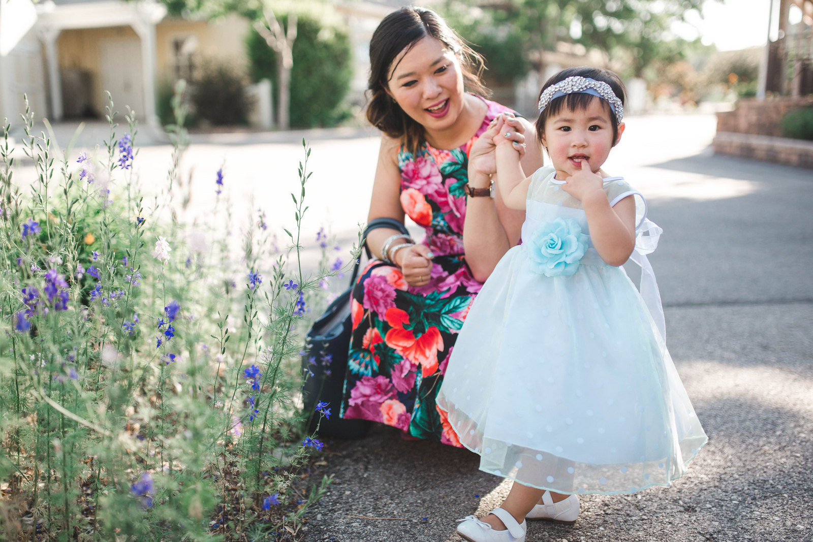 Mommy and Me Summer Wedding Dresses