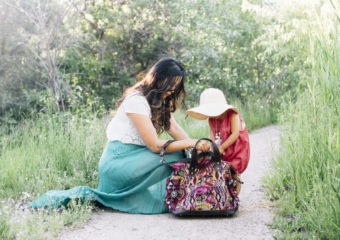 Mommy and Me Style: Pops of Color for Summer