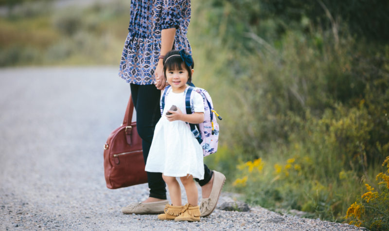 Mamas and Minis Style: Back To School in Moccs + Giveaway!