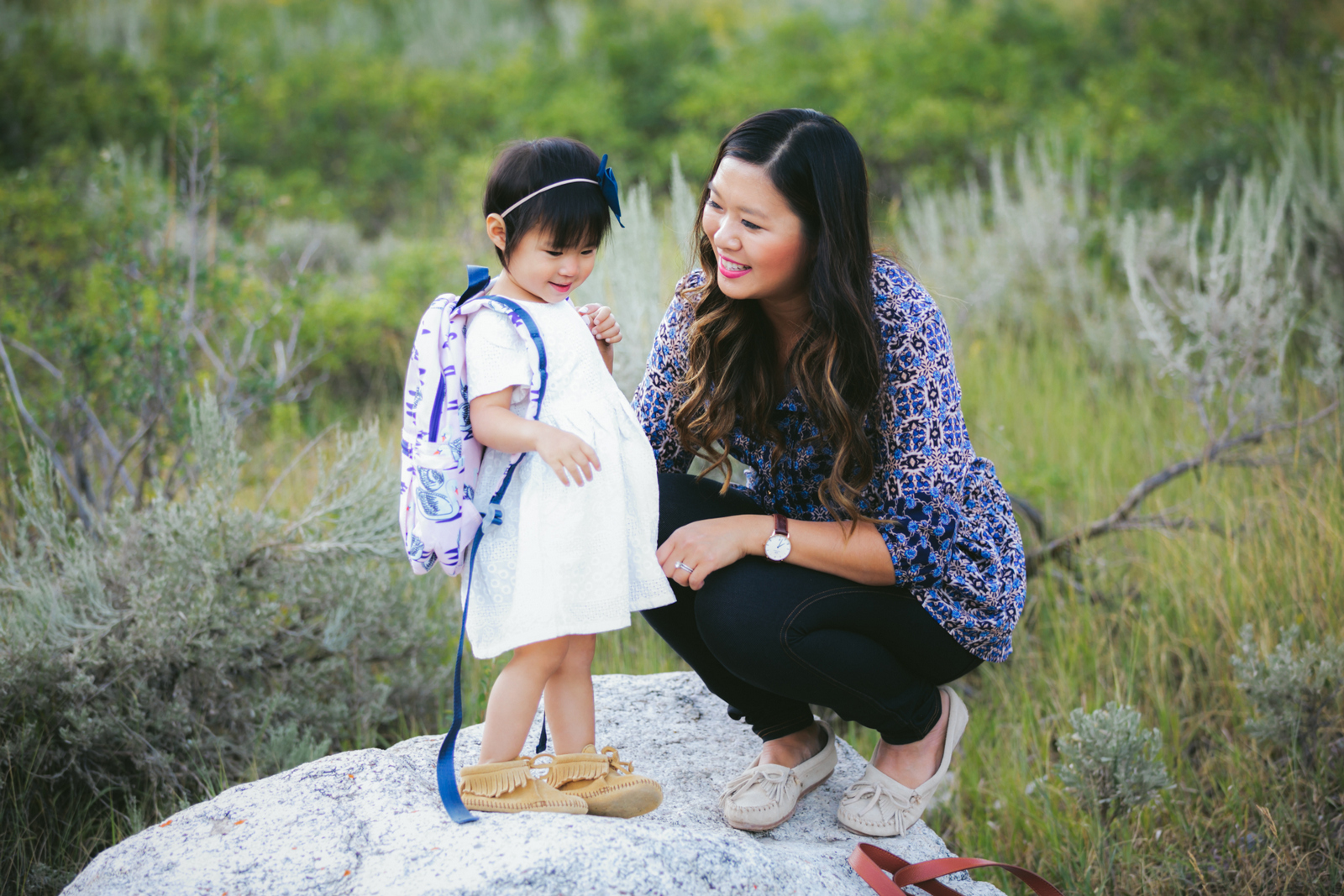 Mamas and Minis Style with Minnetonka