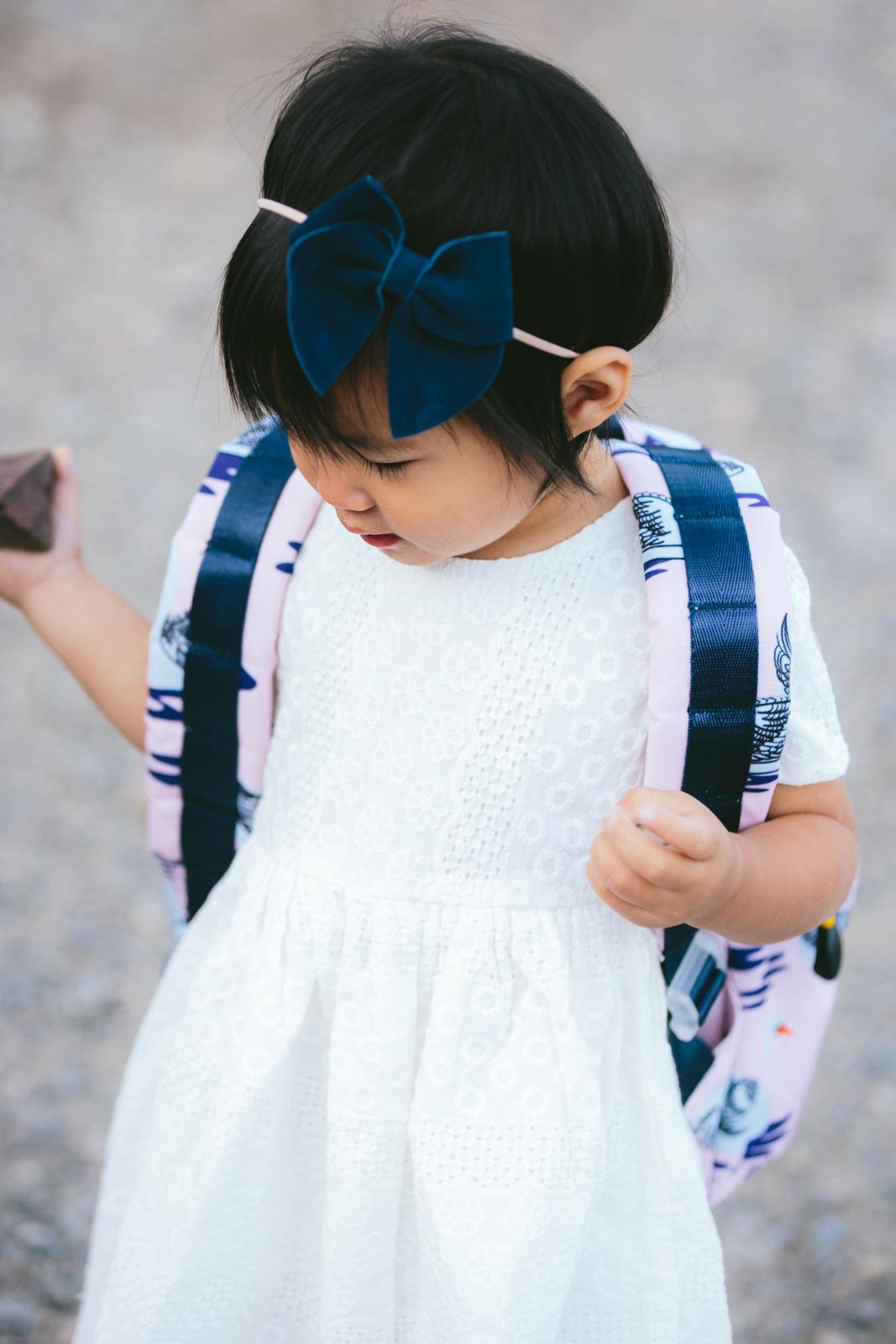 Toddler girl hair bows