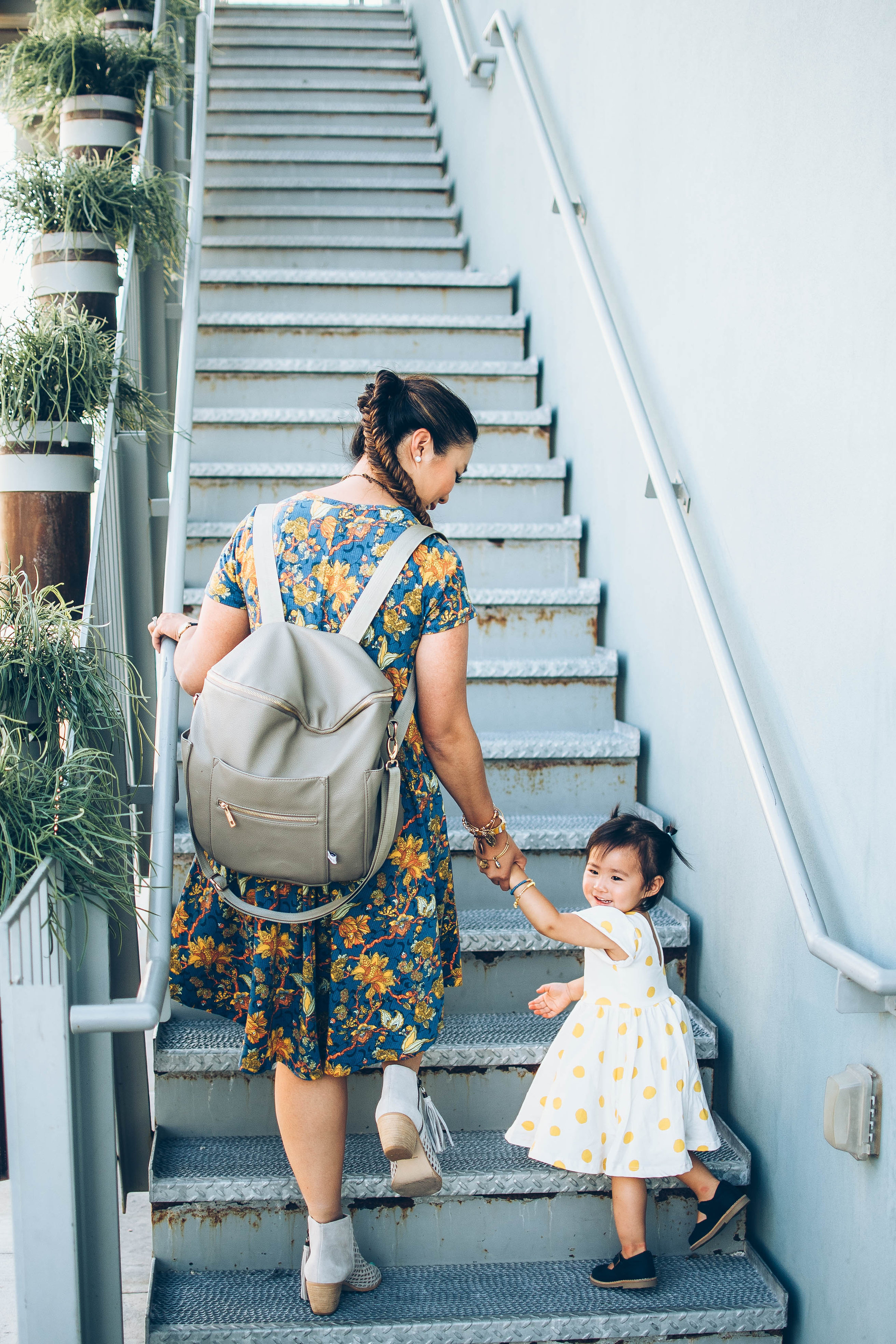 Mommy and me outfits: swing dresses