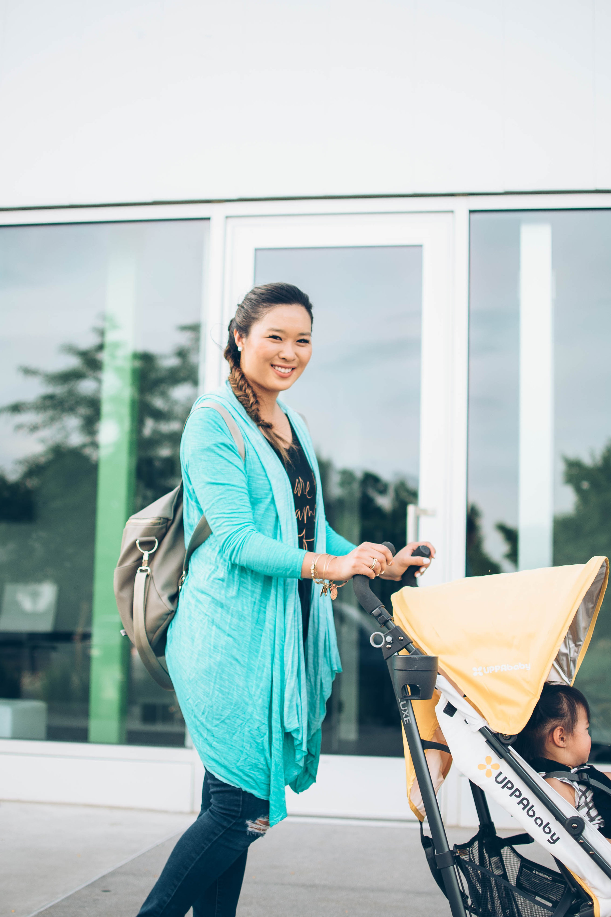 Travel with UPPAbaby G-LUXE stroller