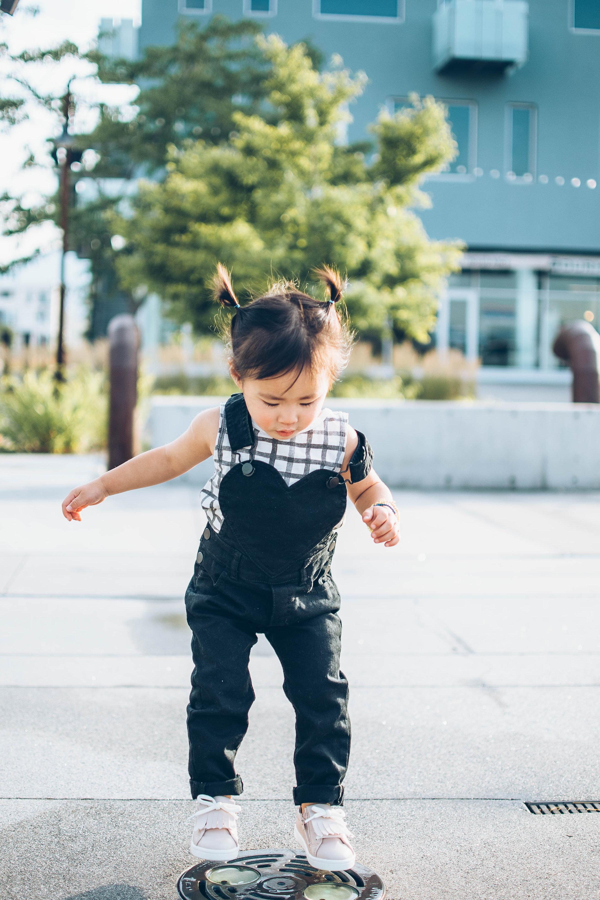 Baby girl in Rylee & Cru
