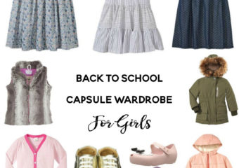 Back To School Capsule Wardrobe for Kids with Diapers.com Coupon Codes